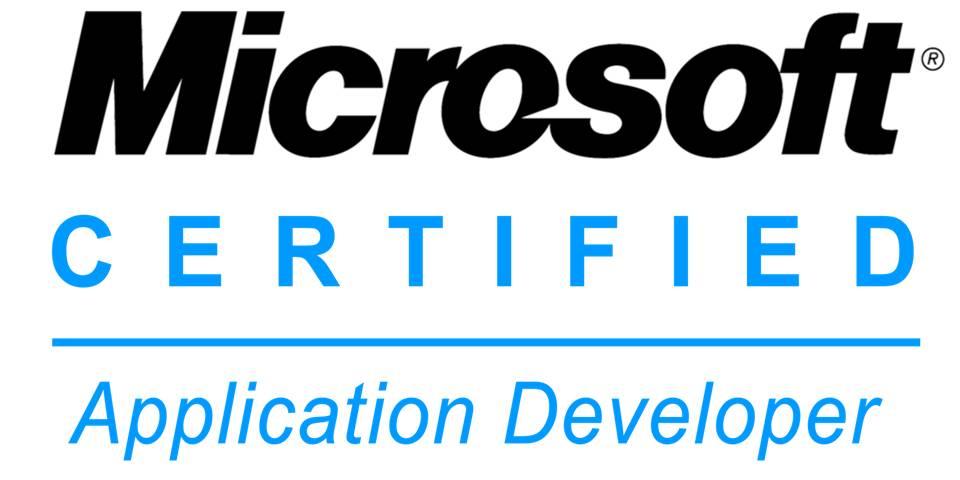 Certificado de desarrollo de aplicaciones microsoft